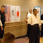 Soke Woodson teaching