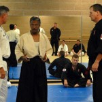 Soke Woodson with Sensei Don Lampert and Master Rice